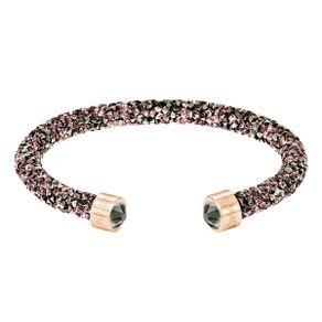 Brazalete-Crystaldust-multicolor-baño-de-oro-rosa
