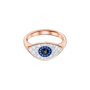 Anillo-Duo-Evil-Eye-multicolor-baño-de-oro-rosa