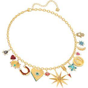 Collar-Lucky-Goddess-Charms-multicolor-baño-de-oro