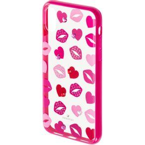 Funda-para-smartphone-con-proteccion-integrada-Lovely-iPhone®-X-XS-rosa