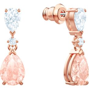 Pendientes-Vintage-rosa-baño-de-oro-rosa