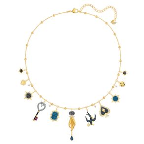 Collar-Tarot-Magic-multicolor-Baño-en-tono-Oro