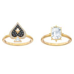 Conjunto-de-anillos-Tarot-Magic-multicolor-Baño-en-tono-oro
