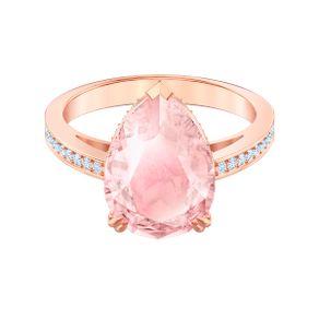 Anillo-de-coctel-Vintage-rosa-Baño-en-tono-oro-rosa
