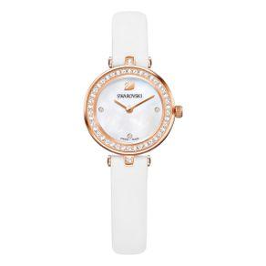 Reloj-Aila-Dressy-Mini-Correa-de-piel-blanco-tono-oro-rosa