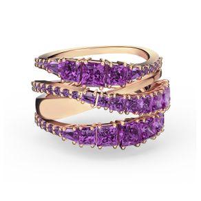 Anillo-Twist-Wrap-violeta-baño-tono-oro-rosa